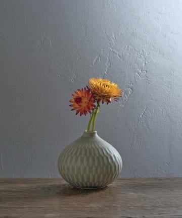 LIVETART(リヴェタート) 《ヤマシタマユ美》色しのぎ花器