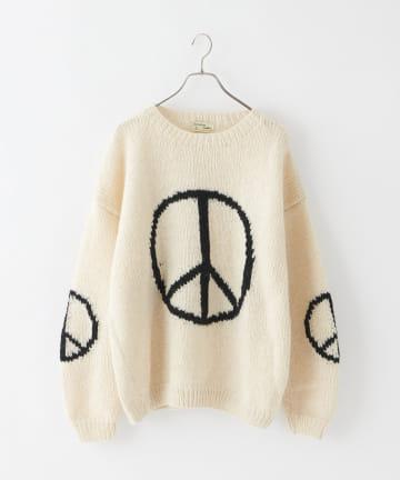 CIAOPANIC(チャオパニック) 【macmahon knitting mills/マクマホンニッティングミルズ】Big Pleace Crew Neck Knit