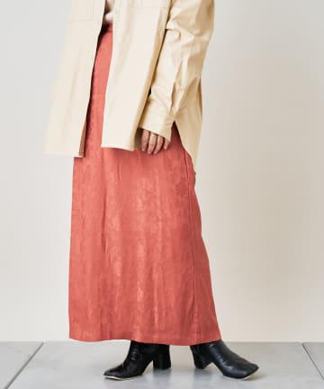 OUTLET(アウトレット) 【Kastane】チャイナジャガードスカート