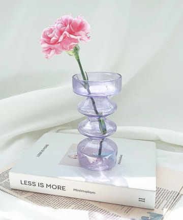 Lattice(ラティス) オブジェなガラスの花瓶