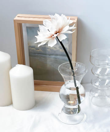 Lattice(ラティス) 1輪挿しのガラス花瓶
