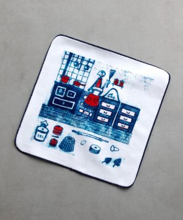 BEARDSLEY(ビアズリー) Houseworkプリントタオル