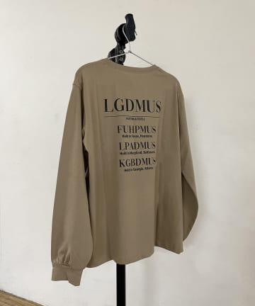 Loungedress(ラウンジドレス) LGDMUS ロンT