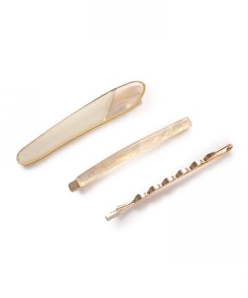 Lattice(ラティス) アクリルデザインヘアピンSET