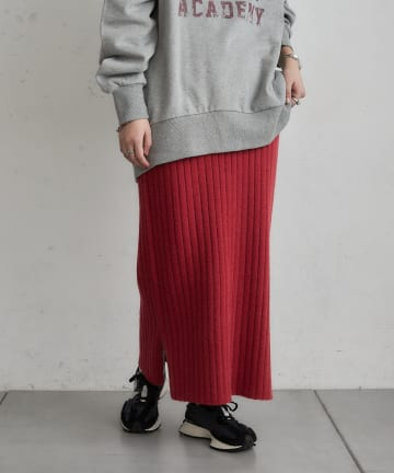 CIAOPANIC TYPY(チャオパニックティピー) リブニットIラインスカート