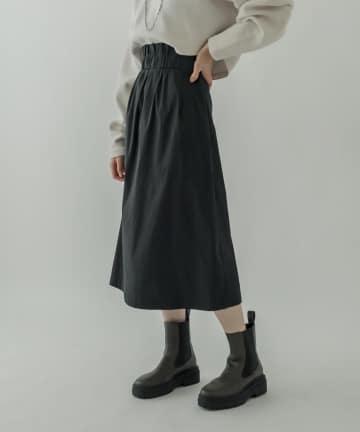 mystic(ミスティック) シャンタンベルト付スカート