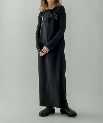 mystic(ミスティック) サスペンダージャンパースカート