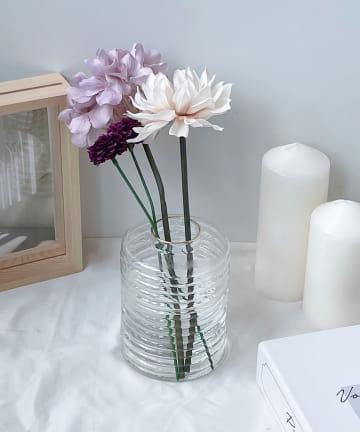 Lattice(ラティス) お花が可愛く見えるガラス花瓶