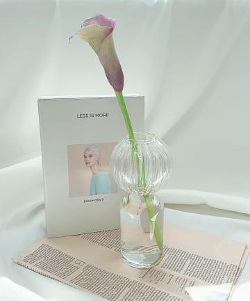 Lattice(ラティス) 見惚れるガラス花瓶