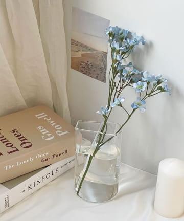 Lattice(ラティス) 透明なガラスの花瓶