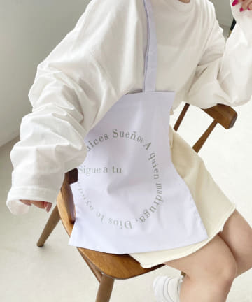 one after another NICE CLAUP(ワンアフターアナザー ナイスクラップ) ロゴトートbag