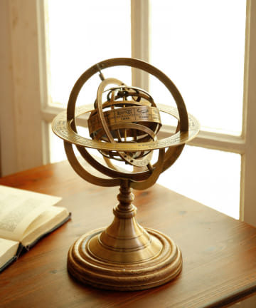 salut!(サリュ) 【Study Room Galileo】ORBITオブジェウッドベース