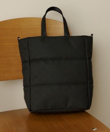 Daily russet(デイリー ラシット) 【防水】キルティング防水2wayトートバッグ