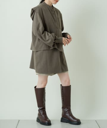 Kastane(カスタネ) 【マルチウェイ】マルチウェイレイヤードブラウス