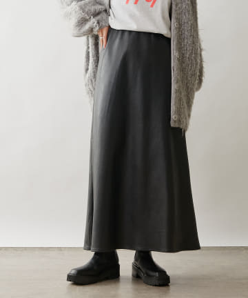 Omekashi(オメカシ) フェイクレザーマーメイドスカート