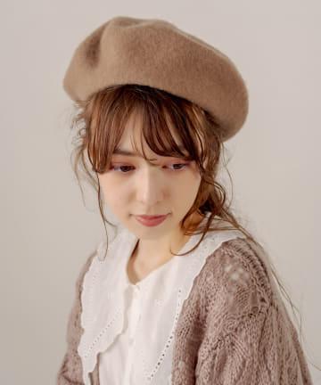OLIVE des OLIVE(オリーブ デ オリーブ) ベレー帽