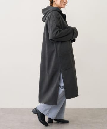 pual ce cin(ピュアルセシン) 【Du noir】起毛コート