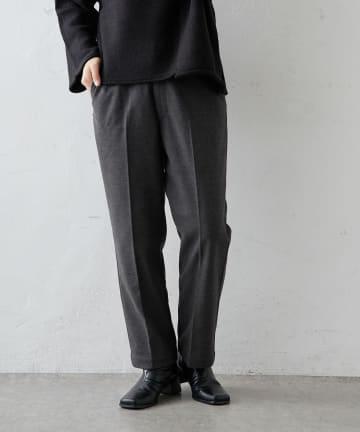 pual ce cin(ピュアルセシン) 【Du noir】起毛パンツ