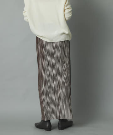RIVE DROITE(リヴドロワ) 【細やかなプリーツで表情豊かな一枚】ランダムプリーツスカート