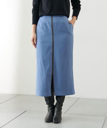 COLLAGE GALLARDAGALANTE(コラージュ ガリャルダガランテ) レザーパイピングスカート