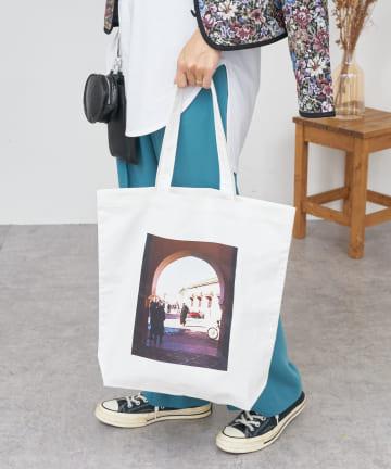 BONbazaar(ボンバザール) 《瑠花×BONbazaar》オリジナルフォトプリントバッグ