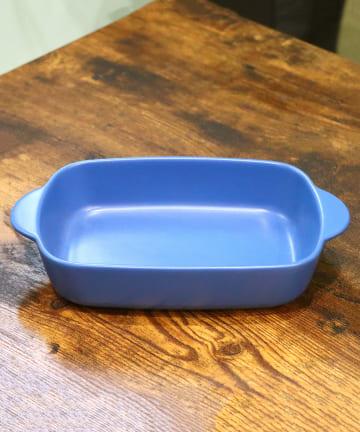 salut!(サリュ) 【町にあるグラタン屋】グラタン皿レクタングル(ネイビー)