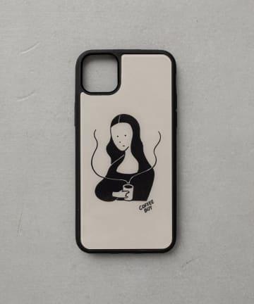 BIRTHDAY BAR(バースデイバー) 【受注予約】COFFEE BOY iPhoneケース モナリザ