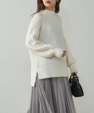 natural couture(ナチュラルクチュール) ふわもこブークレニット