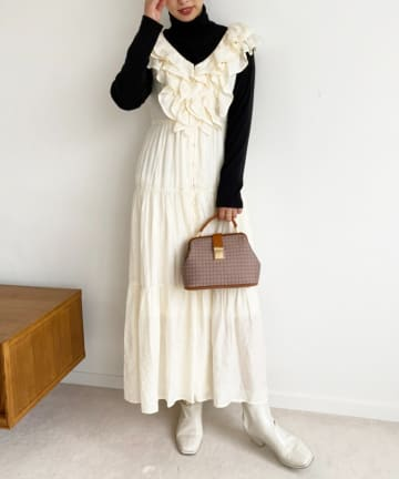 NICE CLAUP OUTLET(ナイスクラップ アウトレット) 【one afteranother】ladyupdress