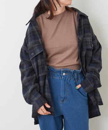 NICE CLAUP OUTLET(ナイスクラップ アウトレット) 起毛チェックCPOシャツ