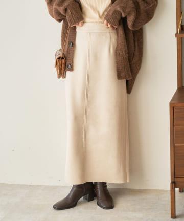Discoat(ディスコート) エコスエードナロースカート