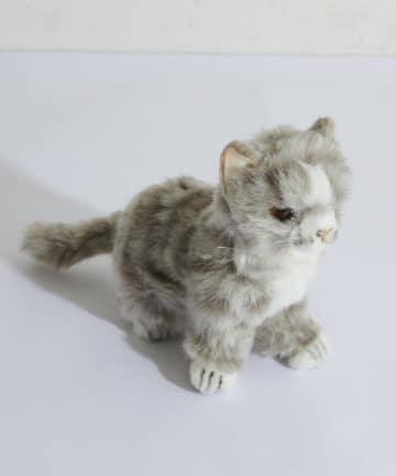 BONbazaar(ボンバザール) 【HANSA】ネコ(仔)グレー 20 CAT ぬいぐるみ