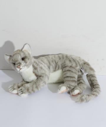 BONbazaar(ボンバザール) 【HANSA】ネコ グレー 37 CAT ぬいぐるみ