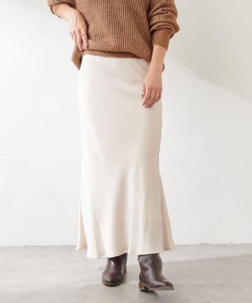 SHENERY(シーナリー) サテンマーメイドマキシスカート