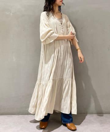 SHENERY(シーナリー) ワッシャーティアードドレス