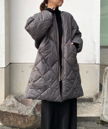 DOUDOU(ドゥドゥ) キルティングコート