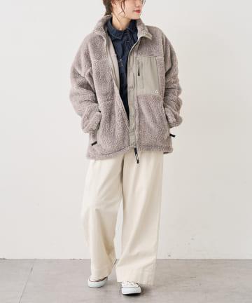 pual ce cin(ピュアルセシン) 【WEB限定】BOA HARF JACKET/ボアハーフジャケット