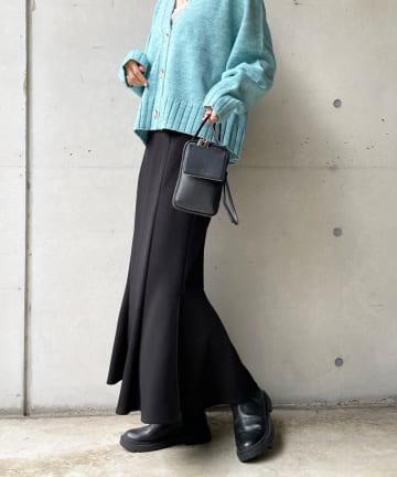 DOUDOU(ドゥドゥ) カットマーメイド切替スカート