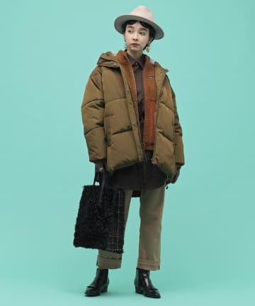 ear PAPILLONNER(イア パピヨネ) 【resume(レジュメ)】中綿ショートブルゾン