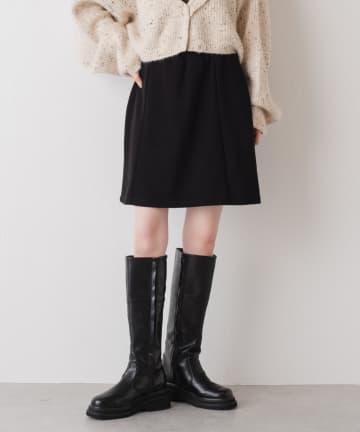 Kastane(カスタネ) ストレッチ台形ミニスカート