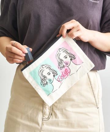 3COINS(スリーコインズ) 【ASOKO】【ASOKO de ART】ポーチ