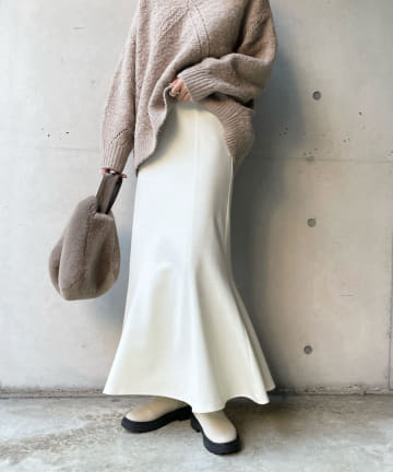 DOUDOU(ドゥドゥ) 切替マーメイドスカート
