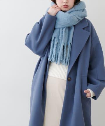 natural couture(ナチュラルクチュール) 【WEB限定カラー有り】カラフルストール