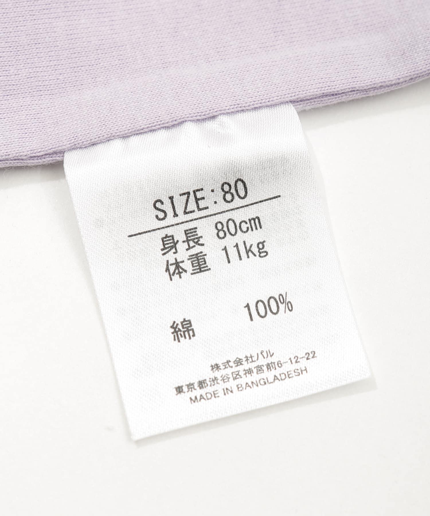 3COINS(スリーコインズ) 【おめかし・一部店舗限定】ボディスーツ 80㎝