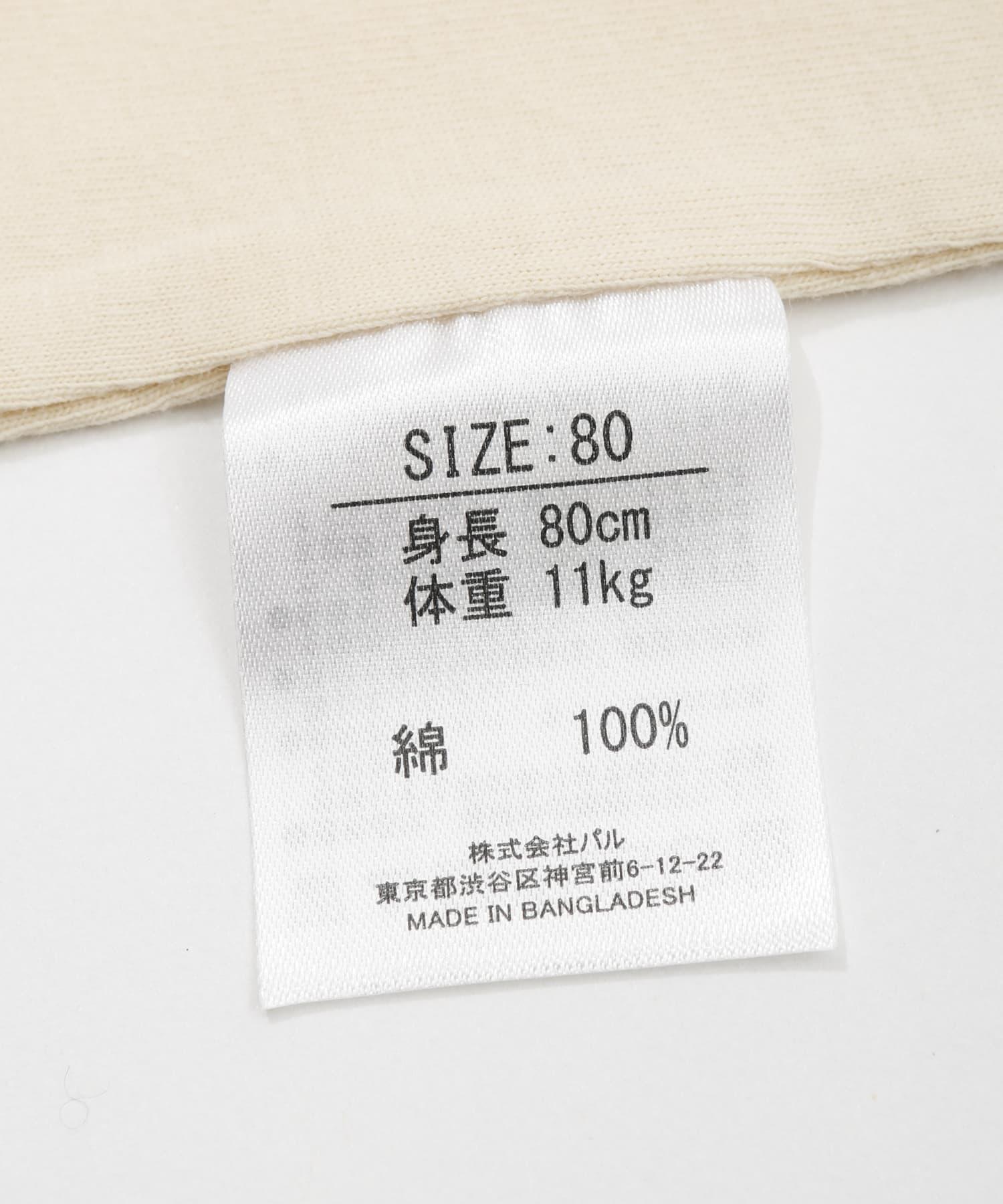 3COINS(スリーコインズ) 【おめかし・一部店舗限定】ロンパース 80cm
