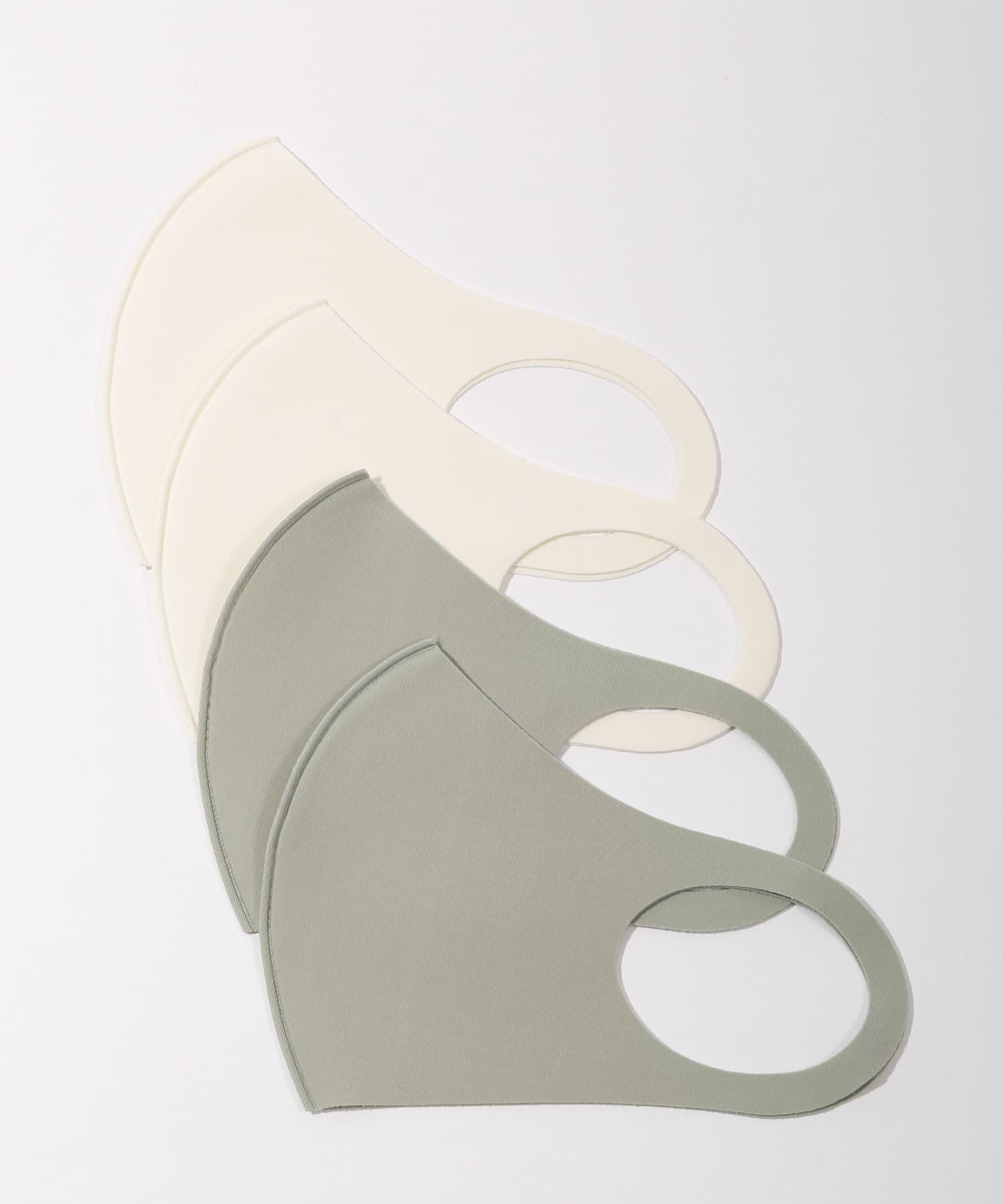 3COINS(スリーコインズ) ライフスタイル 冷感洗えるマスク4枚入【大人小さめ】 その他1