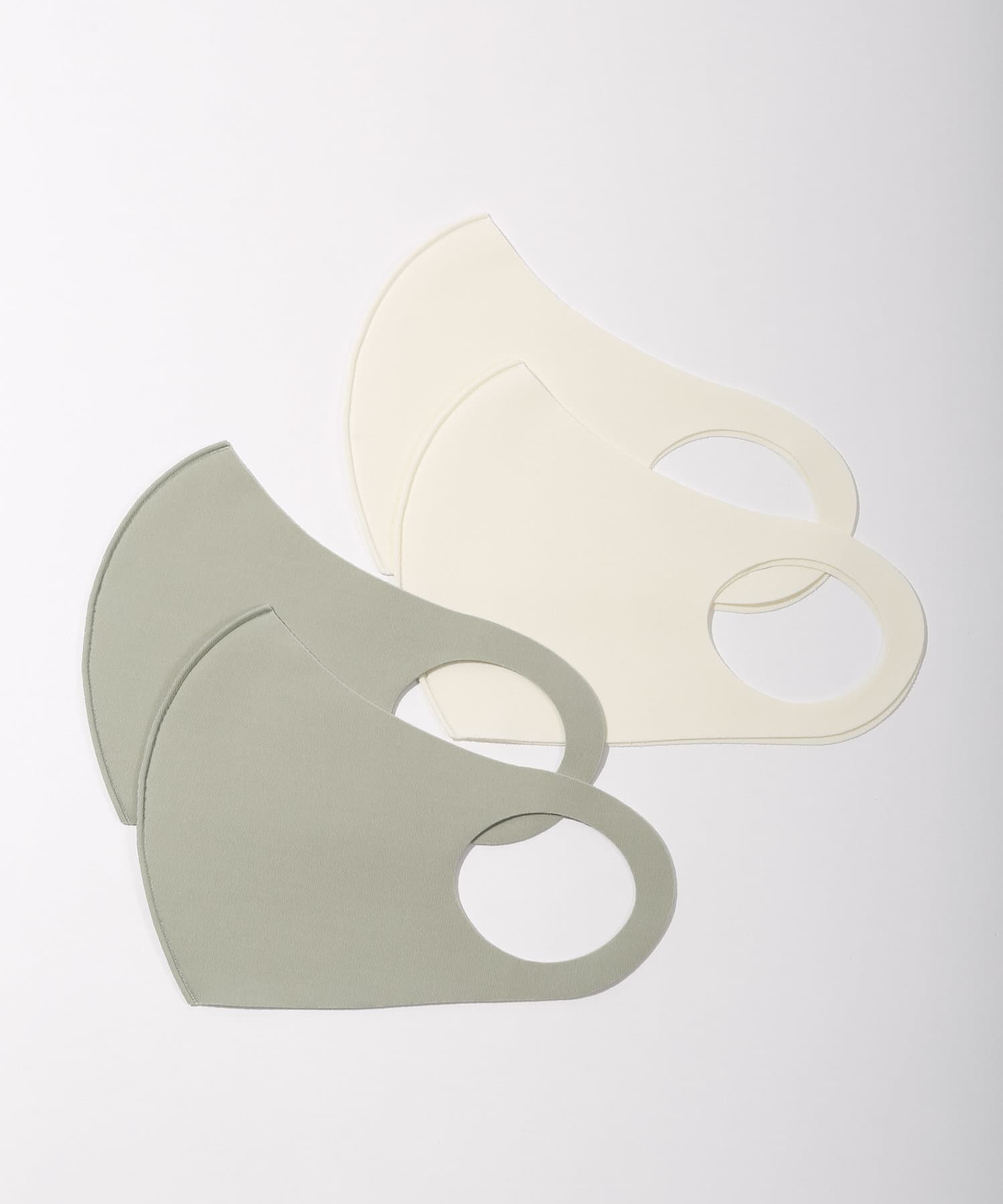 3COINS(スリーコインズ) ライフスタイル 冷感洗えるマスク4枚入【大人用】 その他1