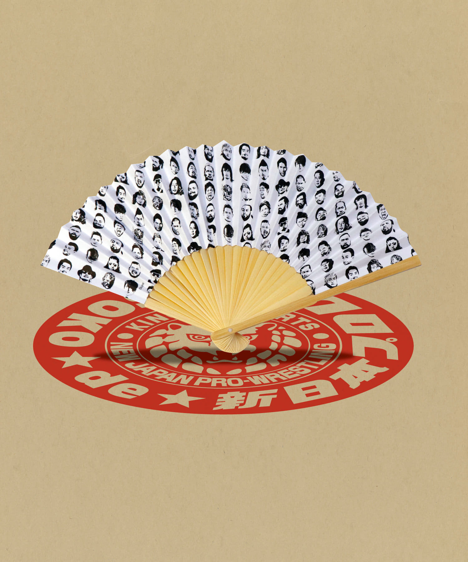 ASOKO(アソコ) ASOKO(アソコ) 【ASOKO de 新日本プロレス】扇子 その他
