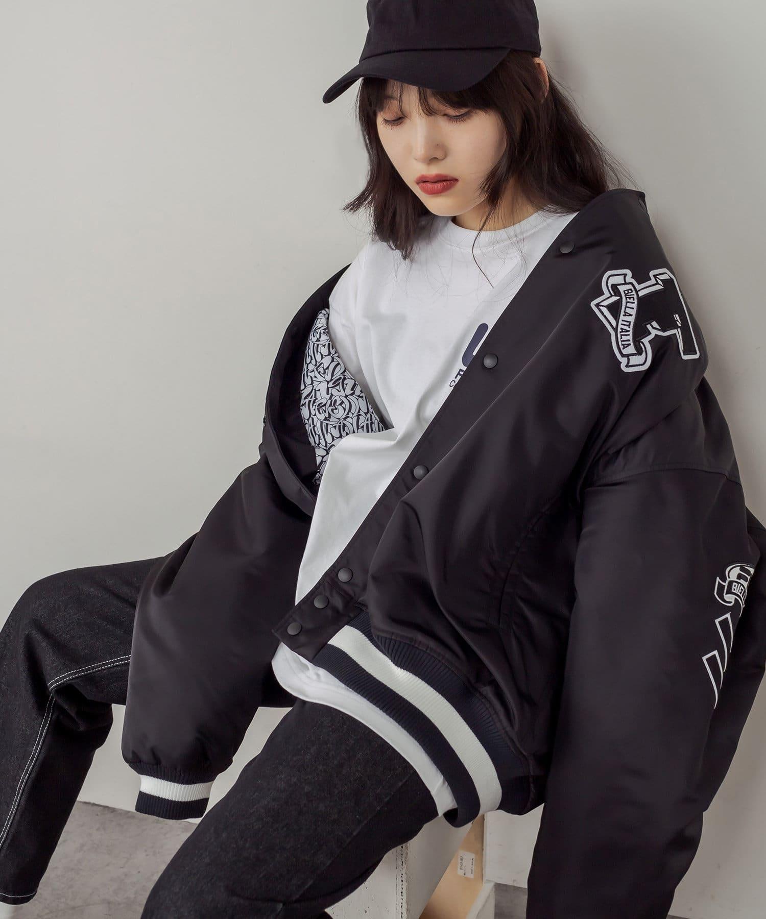 RASVOA(ラスボア) 【FILA】Award jacket