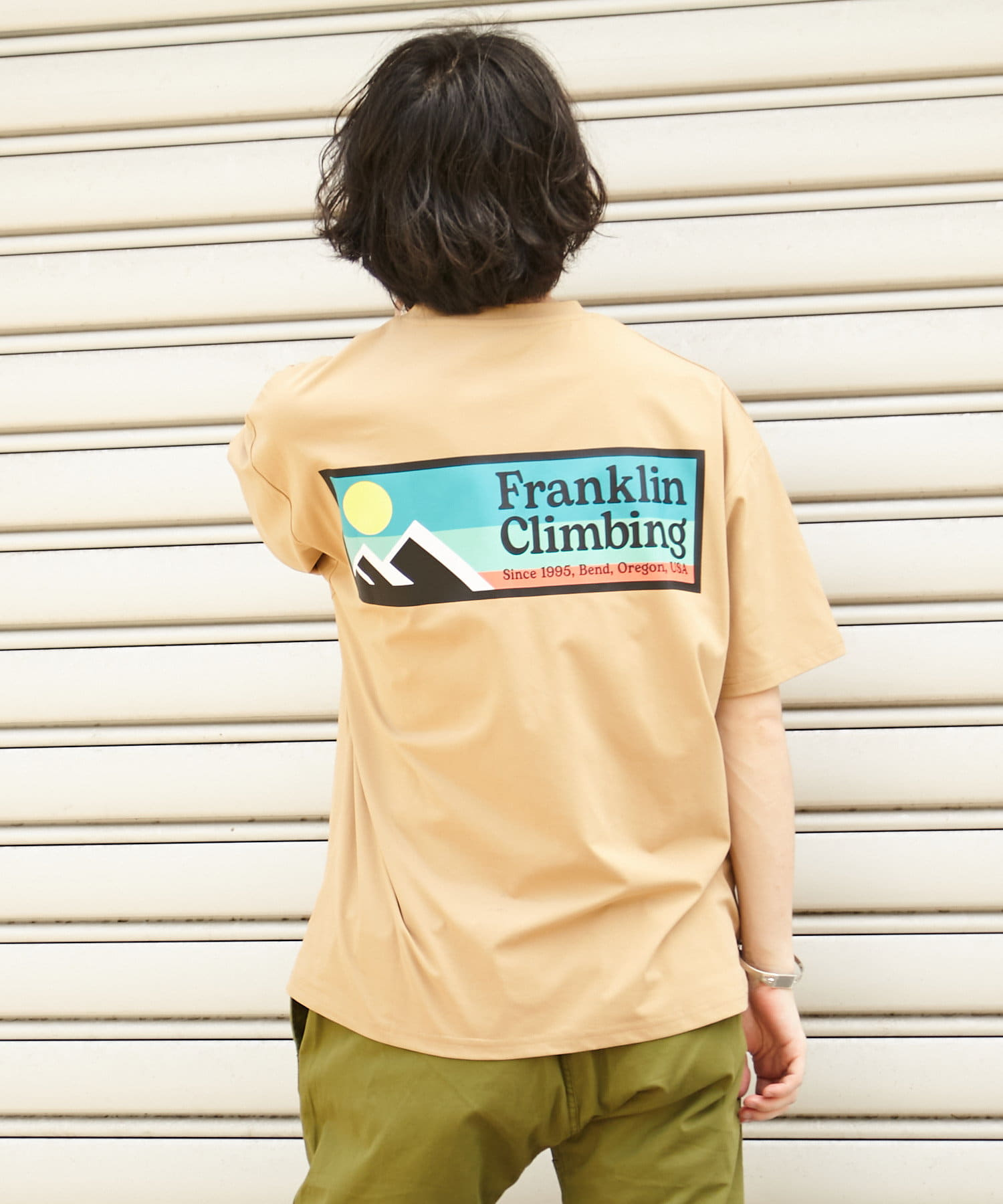 CIAOPANIC TYPY(チャオパニックティピー) 【サイズ別着用動画付】【Franklin Climbing】ロゴTEE